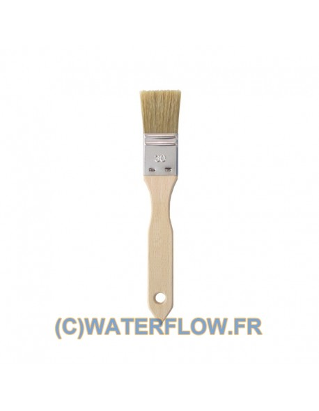 Brush for dyeing leather - width 30mm