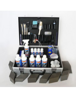 Professional kit - leather care and repair - leather coloring - small format