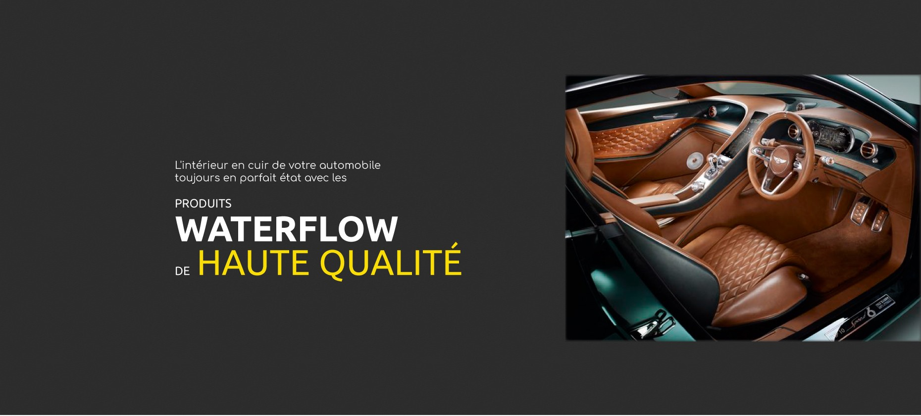 High quality products - Waterflow